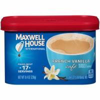 Maxwell House, International Coffee, French Vanilla - 8.5 oz (241 g) x 2 Packs