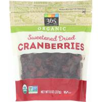 365 Everyday Value, Organic Cranberries, Sweetened Dried - 8 oz (227 g)