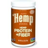 Just Hemp Foods Hemp Protein Powder Plus Fiber - 16 oz. (454 g)