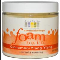 Aura Cacia, Aromatherapy Foam Bath, Tangerine/Grapefruit - 14 oz (397g)