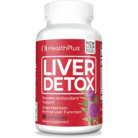 Health Plus, Super Liver Cleanse, Total Body Cleansing System - 90 Capsules
