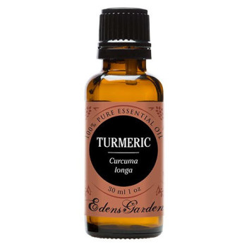 Edens Garden, 100% Pure Therapeutic Grade Essential Oil, Turmeric, Curcuma longa - 1 oz (30 ml)