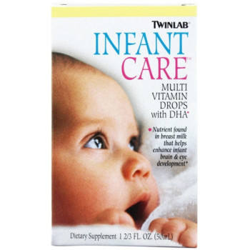Twinlab, Infant Care Multi Vitamin Drops With DHA - 1.67 Fl Oz. (50 ml)