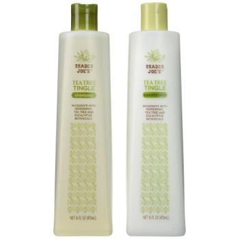 Trader Joe's, Tea Tree Tingle Shampoo & Conditioner - 16 oz./ each