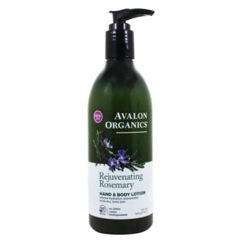 Avalon Organics, Hand & Body Lotion, Rosemary - 12 oz (340 ml)
