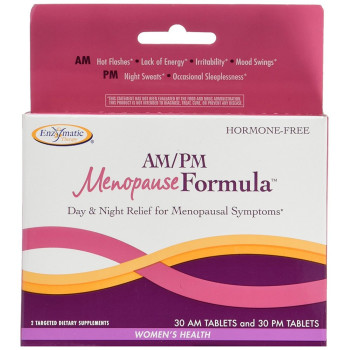 Enzymatic Therapy, AM/PM Menopause Formula, Women's Formula - 60 Tablets