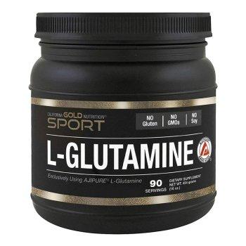 California Gold Nutrition, L-Glutamine Powder, AjiPure, Gluten Free - 16 oz (454 g)