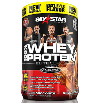 Six Star, Pro Nutrition 100% Whey Protein Plus, 32g Ultra-Pure Whey Protein  Powder - 2 Pound (907 g) *Select Flavor