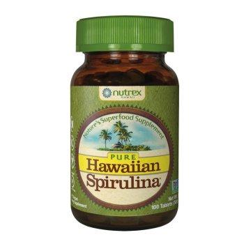 Nutrex, Pure Hawaiian Spirulina Pacifica, 500 mg - 100 Tablets