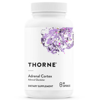 Thorne Research, Adrenal Cortex, 50 mg - 60 Veggie Caps