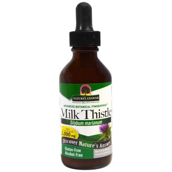 Nature's Answer, Milk Thistle, Alcohol Free, 2,000 mg - 2 fl oz (60 ml)