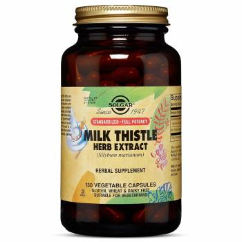 Solgar, Milk Thistle Herb Extract - 150 Vegetable Capsules