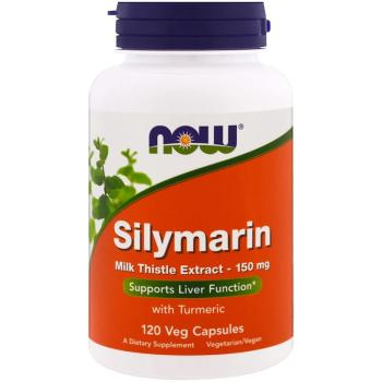 Now Foods, Silymarin, Milk Thistle Extract, 150 mg - 120 Veg Capsules