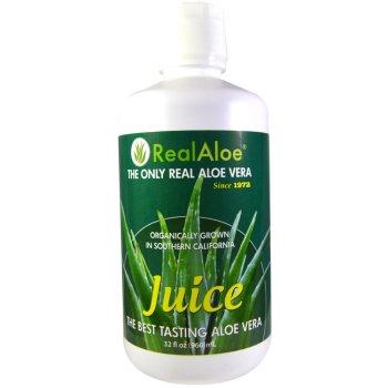 Real Aloe Inc., Aloe Vera Juice - 32 fl oz (960 ml)