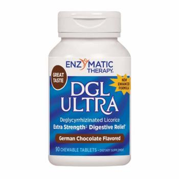 Enzymatic Therapy, DGL Ultra - 90 Chewable Tablets