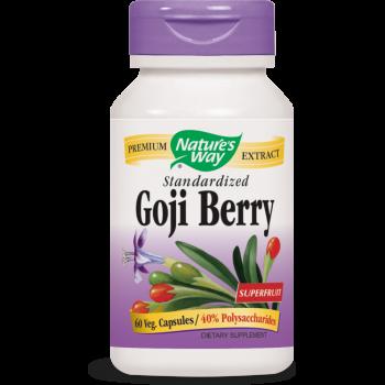 Nature's Way, Goji Berry, Standardized - 60 Veggie Caps