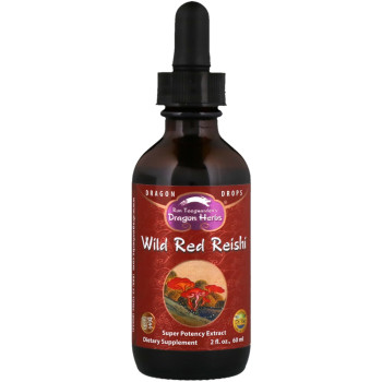 Dragon Herbs, Wild Red Reishi, Super Potency Extract - 2 fl oz (60 ml)