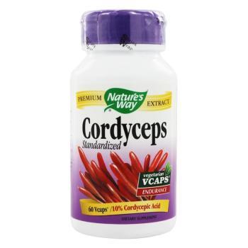 Nature's Way, Cordyceps, 1000 mg - 60 Vegetarian Capsules