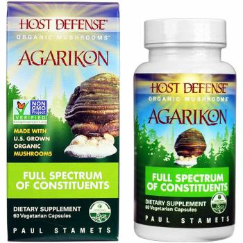 Fungi Perfecti, Host Defense, Agarikon - 60 Veggie Caps