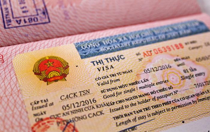 Оформление визы во Вьетнам 2021