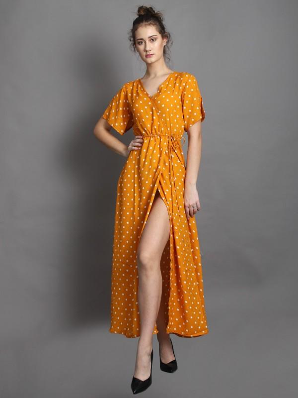 Women Maxi Multicolor Dress Price in India