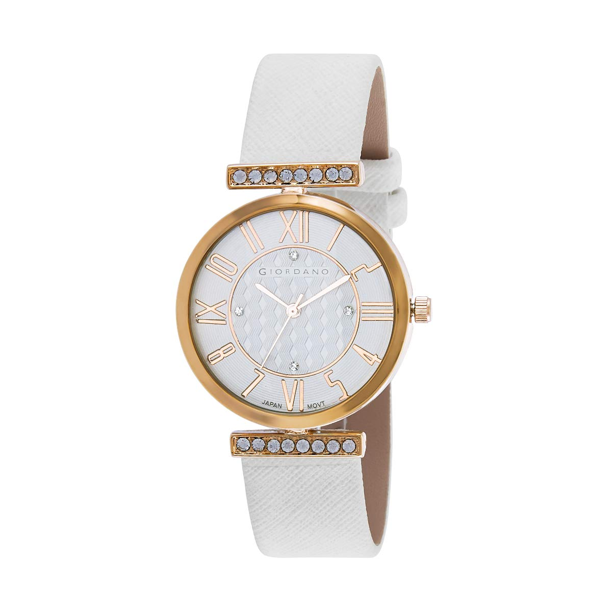 Giordano Analogue White Dial Women's Watch Price in India