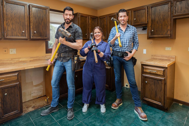 Мелисса Маккарти отремонтировала дом полицейских в Чикаго