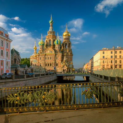 Sankt Petersburg med buss
