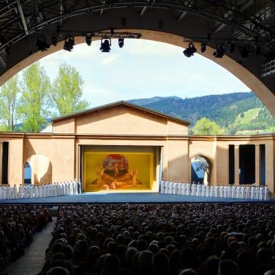 Passionsspelen i Oberammergau 2022 med Gardasjön (flyg)