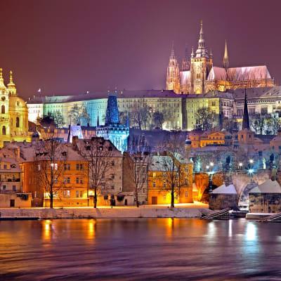 Nyårsfirande i Prag med guldkant!