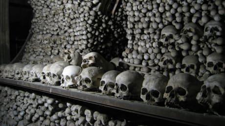 Skelettkyrkan i Kutná Hora