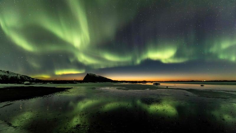 Aurora borealis - norrsken