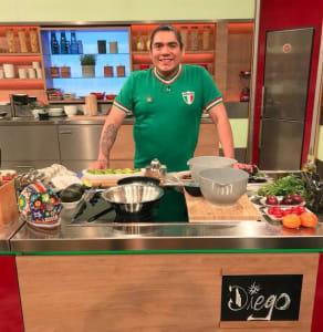 """Diego in """"Die Küchenschlat"""""""