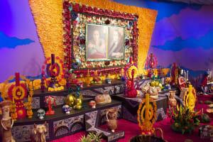 Altar de día de muertos