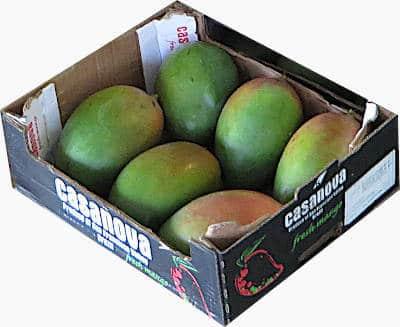 Petacones mangoes