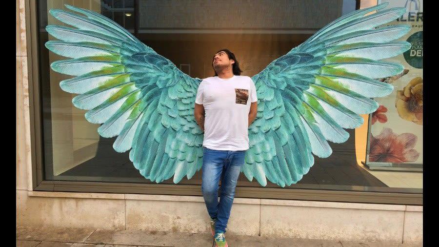 Diego has wings