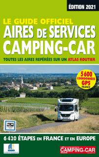 Guide des Aires de Services Camping-Car 2021