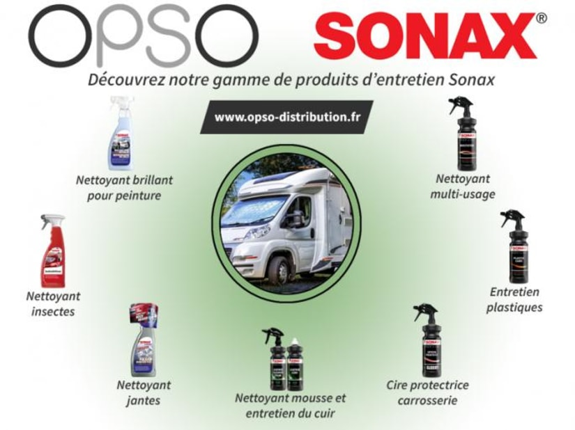 Opso Distribution, accessoires camping-car