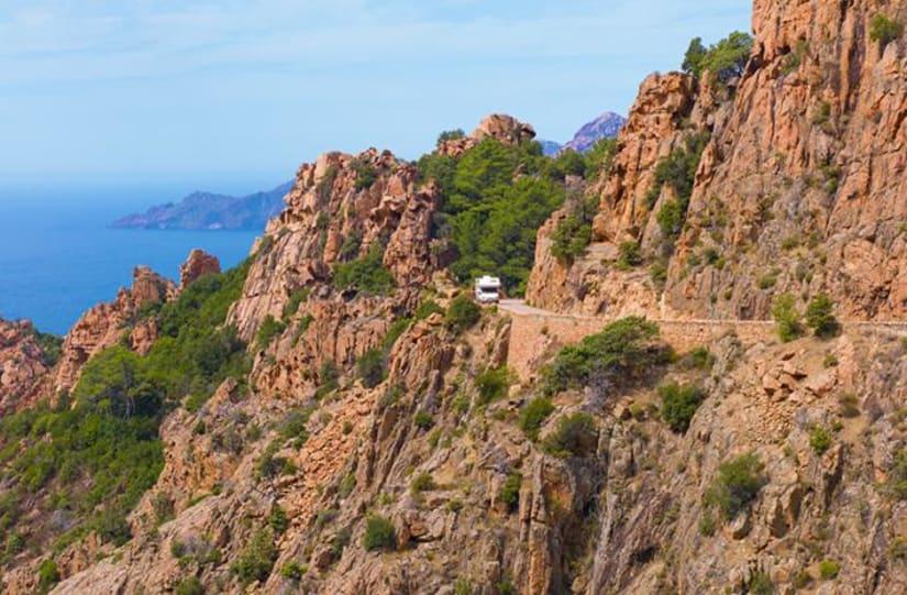Camping-car Corse