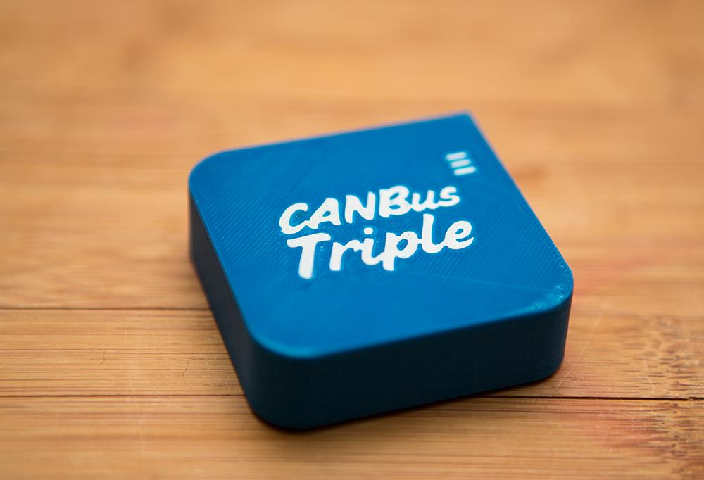 CANBus Triple Plastic (Blue)