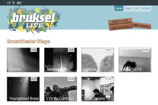 Bruksellive 2015 - Screenshot 1