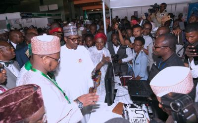 2017 E-NIGERIA CONFERENCE AND EXHIBITION AT THE INTERNATIONAL CONFERENCE CENTER, ABUJA.