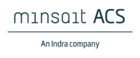 Minsait ACS footer logo
