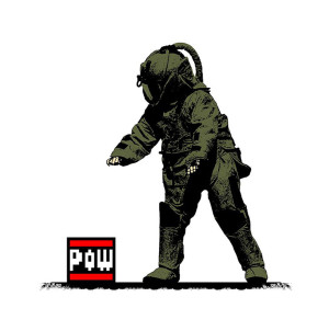 Visual Artwork: Pow Squad Main by artist and creator BOT Stencil