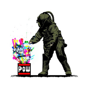 Visual Artwork: Pow Squad Main Martin Whatson Edition by artist and creator BOT x Martin Whatson
