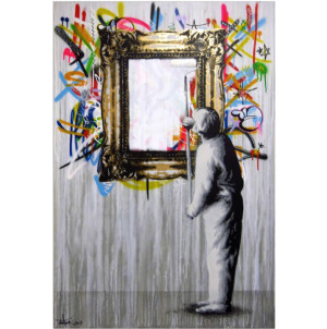 Visual Artwork: Abstract Buffer by artist and creator Martin Whatson