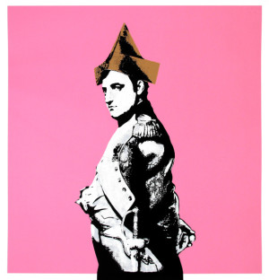Visual Artwork: NAPOLEON PINK by artist and creator DOT DOT DOT