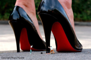 Visual Artwork: Killer Heels by artist and creator Roys People