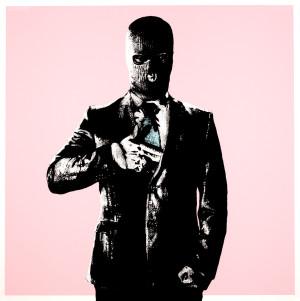 Visual Artwork: Handgun Pink by artist and creator DOT DOT DOT