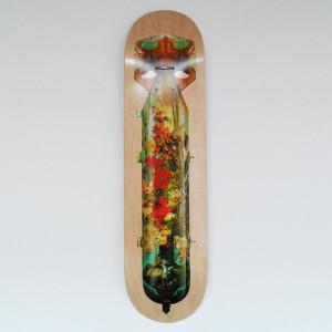 Visual Artwork: Skate Or Die Flowerbomb by artist and creator Magnus Gjoen